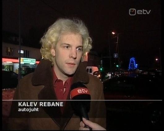 Kalev Rebane on tõeliselt ilus oma blondide kiharatega. Oleks ta šoti keldis, siis pimedas võiks igasuguseid eksitusi tulla.