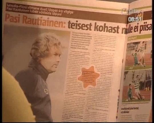 Kuusnurk Eesti Päevalehes. 20. oktoober 2008 ETV Terevisiooni saates
