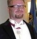 Veebruaris 2006 saadud valgetähe ordeniga Hans H. Luik 2008. aasta Presidendi vastuvõtul.