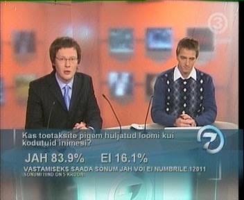 19. jaanuar 2008 TV3 vaatajad eelistavad loomi inimestele. Kuhu on veel langeda?