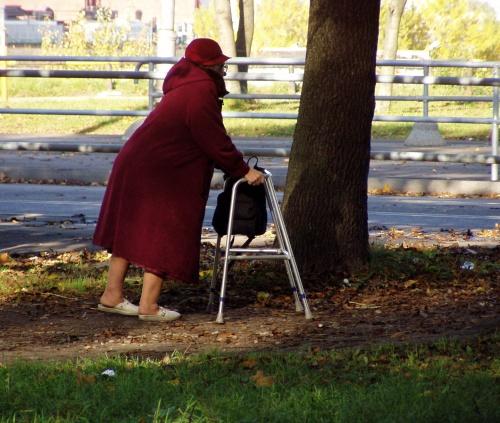 Kas vanur on juba pensionil või läheb tööle? 8. oktoober 2008 Foto Virgo Kruve