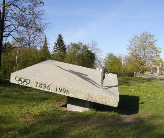 Tallinnas on olemas Georg Lurichi skulptuur (Pirita tee ääres), kujur Amandus Adamson. Foto Virgo Kruve 6. mai 2008