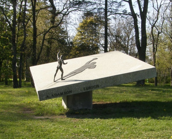 Georg Lurichi kuju Tallinnas, autor A. Adamson. Foto Virgo Kruve 6. mai 2008