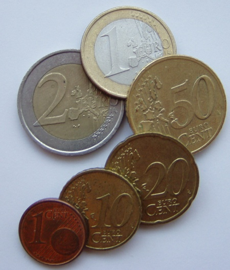 Õpime euromünte. Foto Virgo Kruve