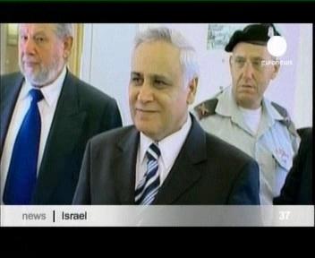 Moshe Katsav ootab süüdistust mitme naise vägistamises. Foto euronews