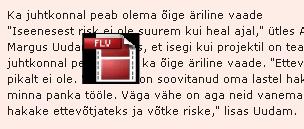 Selline ikoon plingib teksti peal 5-6 korda sekundis. Blokeerib hiire kasutamise.