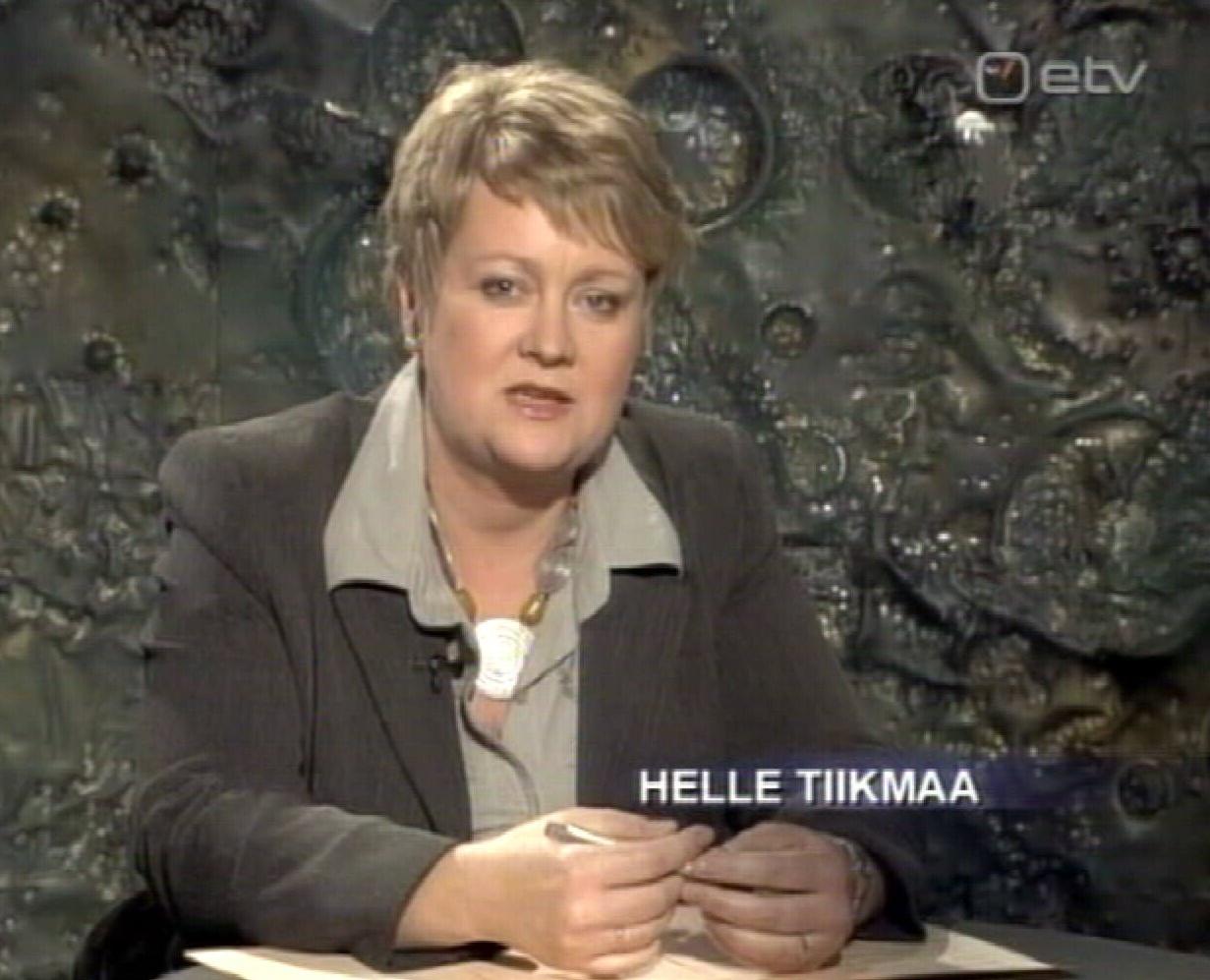 11. mai 2009 jäi Helle Tiikmaa viimaseks välisilma saateks Eesti Reformierakonna Ringhäälingu ekraanil.