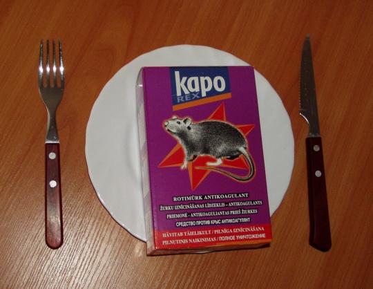 KAPO või KOTI organite kokku keedetud körti tuleb süüa vähemalt 5 aastat (Panovi näide). Isegi siis jääb vastik jälelhais külge. Autori foto.