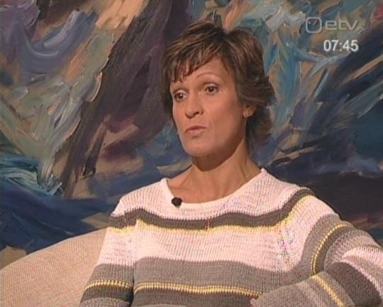 Erika Salumäe tutvustab Terevisioonis oma ilmunud raamatut. Kas see on rahvustelevisiooni kanal või reklaami televisioon?