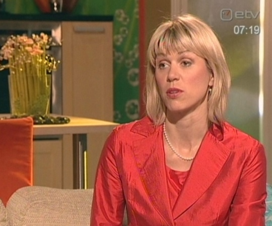Urve Palo ministri ametist järgne esinemine Terevisioonis reedel 12. juunil 2009