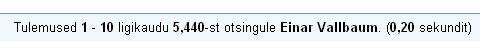 0808522 google otsing einar vallbaum