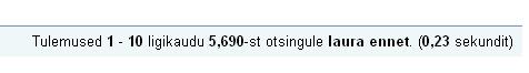 0808524 google otsing laura ennet