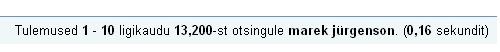 0808529 google otsing marek jurgenson
