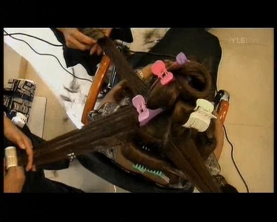 58 cm juuksepikendused salong paigaldamine