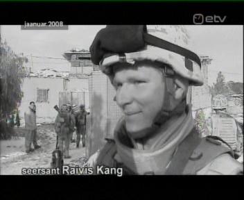 Surnud Eesti kaitsevaelane Raivis Kang intervjuu meenutus ETV Aktuaalses Kaameras 24. august 2009