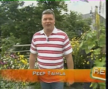 reporter ilmateate peep taimla pluusiga