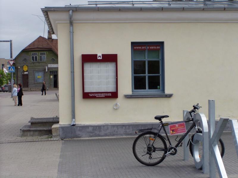 Pildil Arco Vara Rakvere kesklinnas suletud kontor. 12. juuni 2009 foto Virgo Kruve