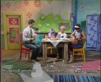 Evelin Ilves lastesaates saame kokku Tomi juures viimased tiitrid