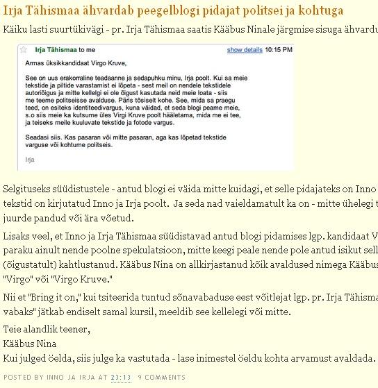 http://innojairjavabaks.blogspot.com/2009/09/irja-tahismaa-ahvardab-peegelblogi.html