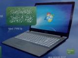Arvuti Windows 7 tarkvaraga elioni reklaamis. Foto Virgo Kruve