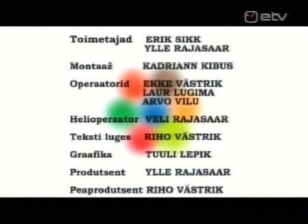 Minu Eesti etv saate tegijad, teine osa 7. novembrist 2009.