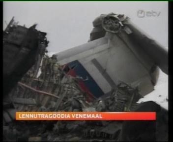 venemaa lennuk katastroof