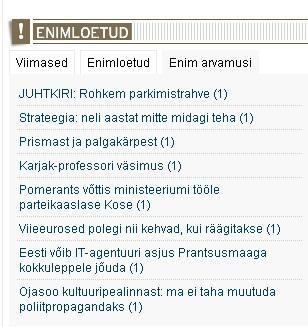 Virgo Kruve oli EPL-i ainus kommenteerija. Aa-uu-uuu inimesed, kus olete.