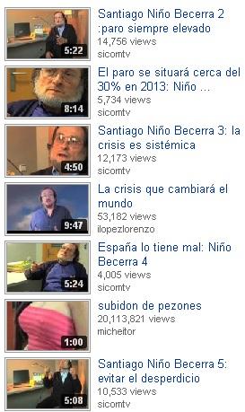 Santiago Niño Becerra video vaatajad
