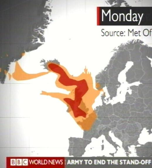 Islandi vulkaani tuhk seiskab Suurbritannia lennuliikluse. 16. mai BBC uudised