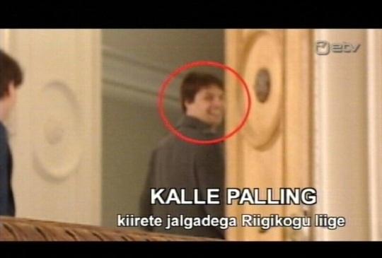 Kalle Palling jookseb Anatoli eest. Kaader Erisaade 16. mai 2010