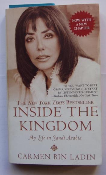 Carmen bin Ladin raamatu Inside the Kingdom esikaas. Foto: autorilt.
