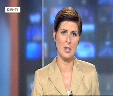 Kaader 23. juuli 2010 DW-TV