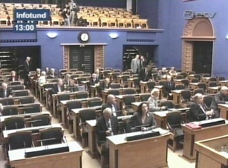 37 riigikogu saadikuga saal