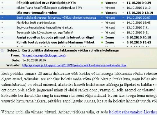 sissekanded innojairja.blogspot.com blogis