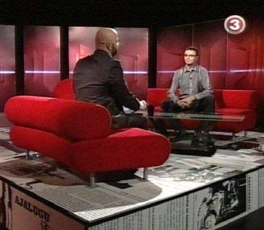 Mihkel Raud intervjuu Sven Mikser´iga, kes soovib saada SDE esimeheks. 14. oktoober 2010 tv3