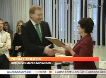 Poliitiline blogija Marko Mihkelson. Kaader AK 17. detsember