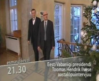 Eesti sarnane etendus toimub ainult 1 ajakirjaniku osalusel ETV kanalil kell 21.30 27. detsembril