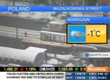Bloomberg ilmateade Poola kohta.