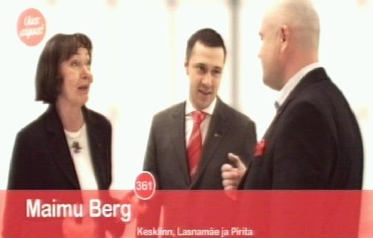 SDE kandidaat Maimu Berg