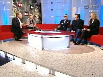 8.02.2011 terevisioon kell 8.21 esinejatega Mihhail Kasjanov