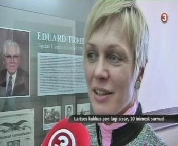 """Laitse poe lae kukkumise libauudis 28. veebruar 2011 TV3 """"Seitsmesed uudised"""" saates"""