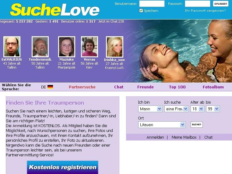 Saksa keelne suchelove.com