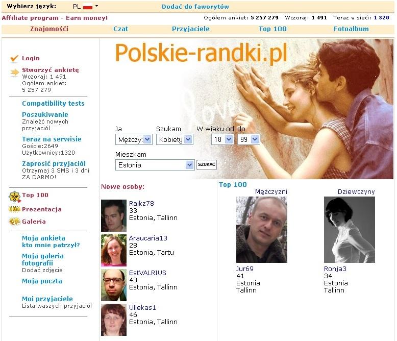 Poola kohtingu: polskie-randki.pl