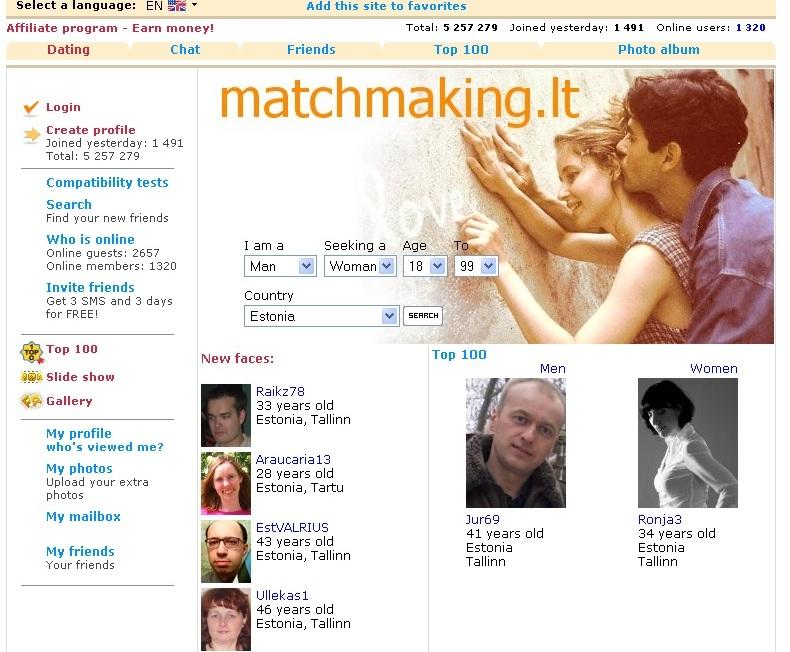 Leedu domeen matchmaking.lt