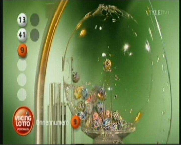 viking lotto õnnenumber 9 kuigi tegelikult sai selleks hiljem 30