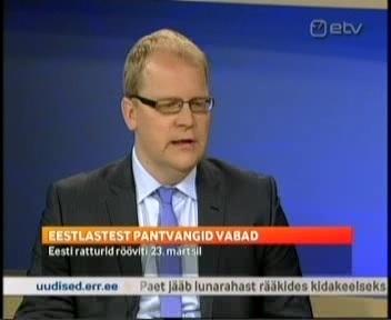 Neljapäev oli hea päev välisministrile, kes sai mitu korda anda ETV-s intervjuusid.