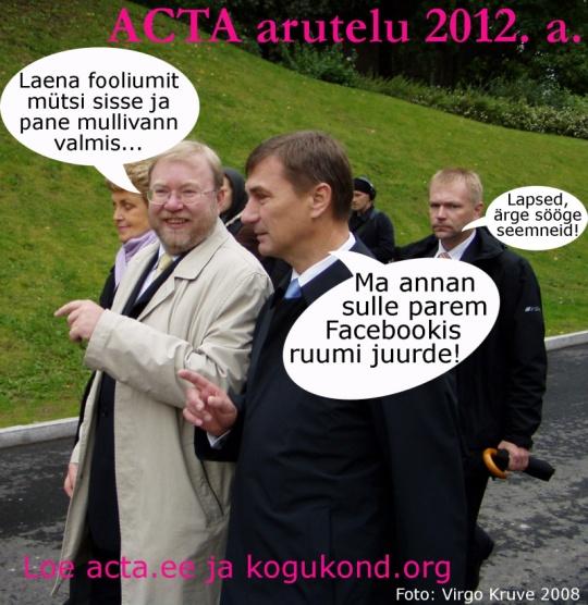 ACTA arutelu ministrite vahel